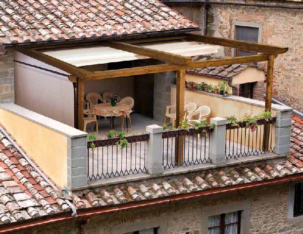 Legittimo realizzare sulla terrazza una struttura in legno for Gazebo da terrazzo